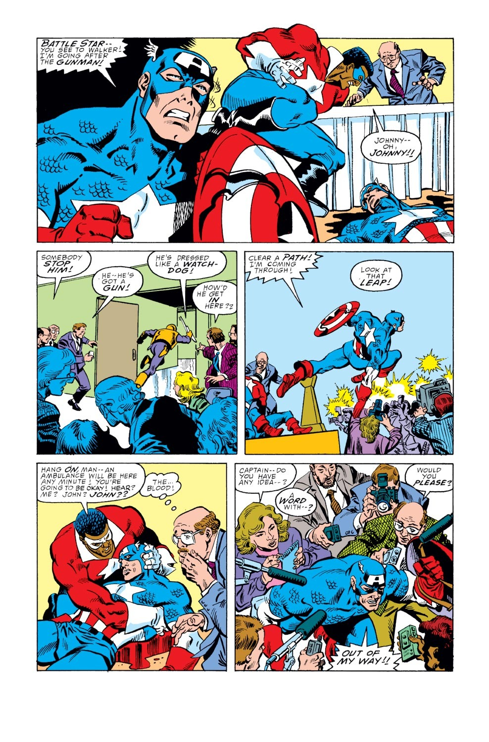 Captain America (1968) Issue #351 #283 - English 4