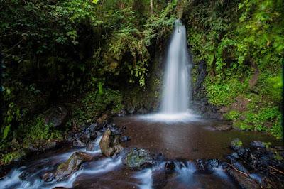 Mengenal Air Terjun Citiis Gunung Guntur