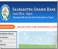 Saurashtra Gramin Bank Results 2013