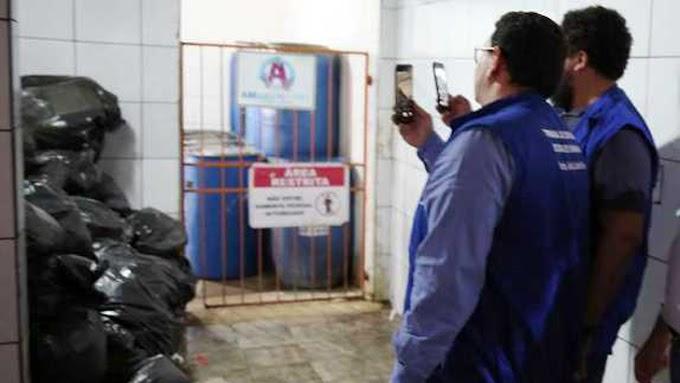 TCE COMPROVA RATOLÂNDIA: Uma visita de técnicos do TCE comprovam a degradação do JP II, imagens