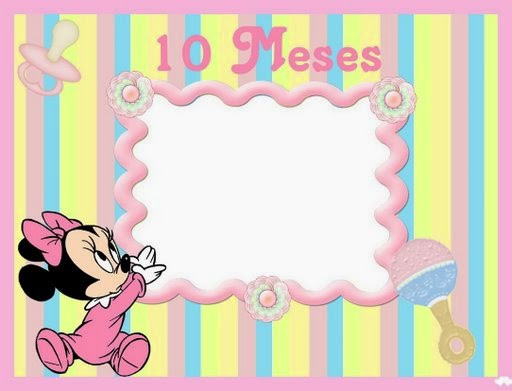 Minnie baby free printable photo album oh my fiesta in english - Album de fotos ...