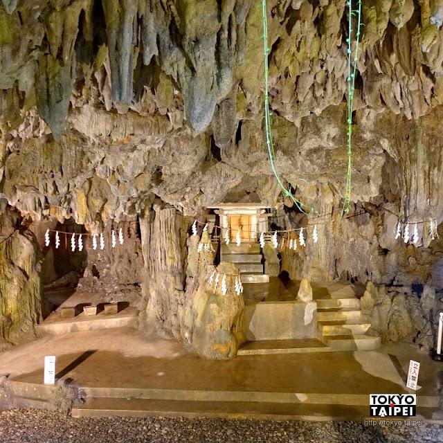 【普天滿宮】巫女帶路 參拜鐘乳石洞穴內的神社