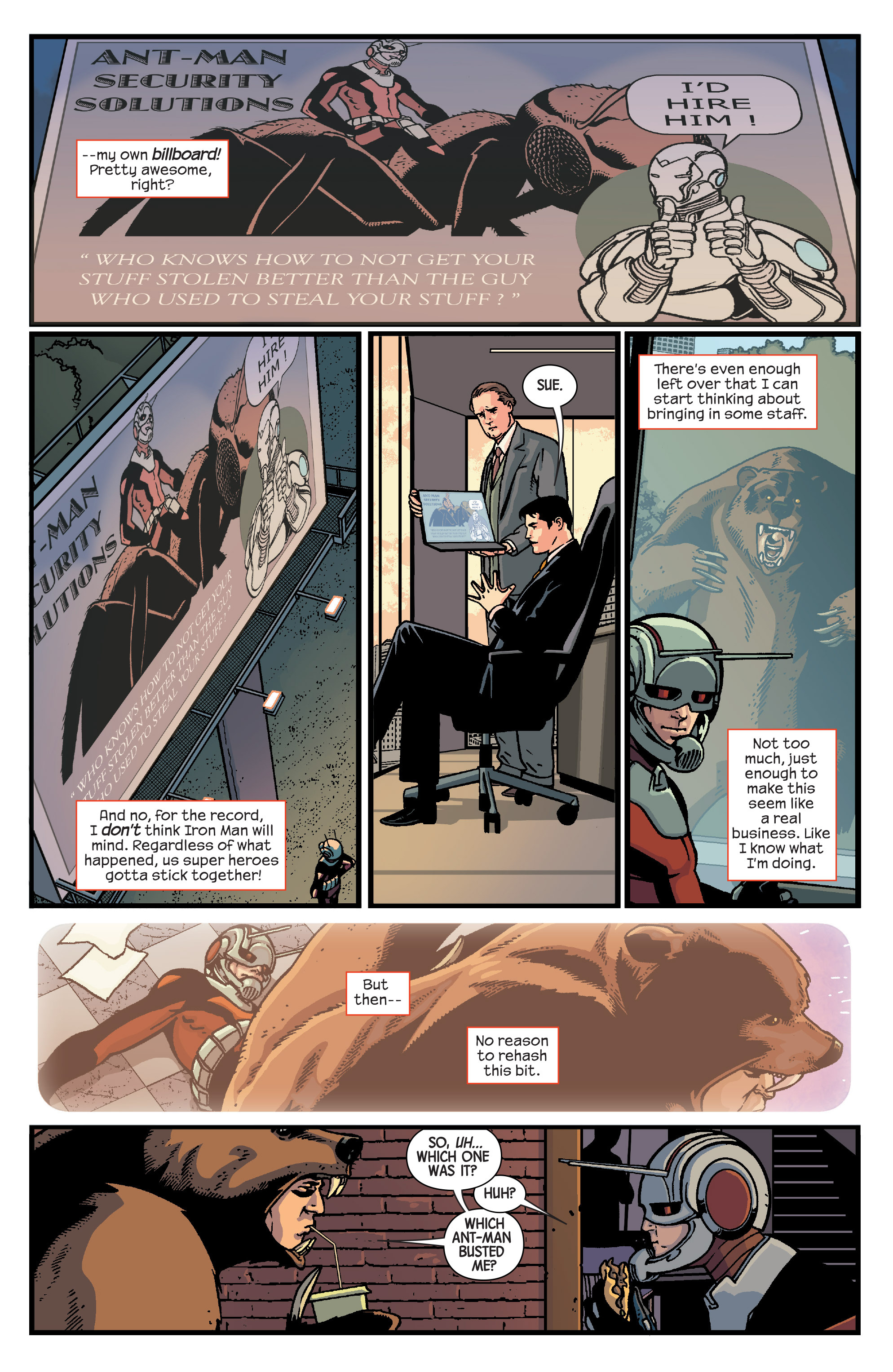 Read online Ant-Man comic -  Issue #2 - 19