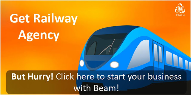 ailway ticket booking agency in india