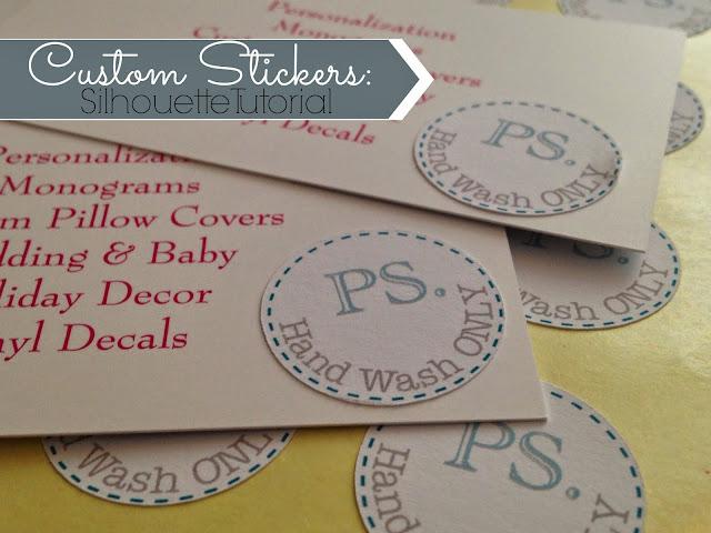 online labels sticker paper, silhouette sticker tutorial, silhouette stickers, silhouette cameo stickers, sticker paper, print and cut
