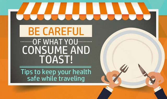 Image: Tips to Keep your Health Safe While Traveling #infographic