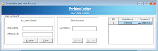 Erchima Locker v1.2 Beta Lock and Protect files and folder with password