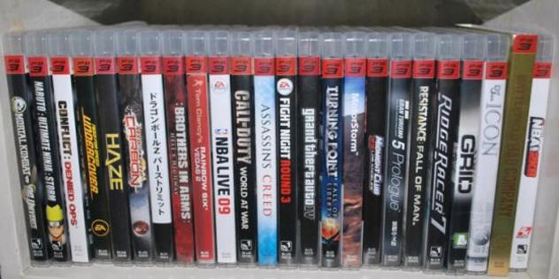 Jogos de PlayStation 3 usados
