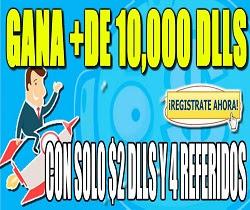 PaidRockett Gana 10,000 DLLS