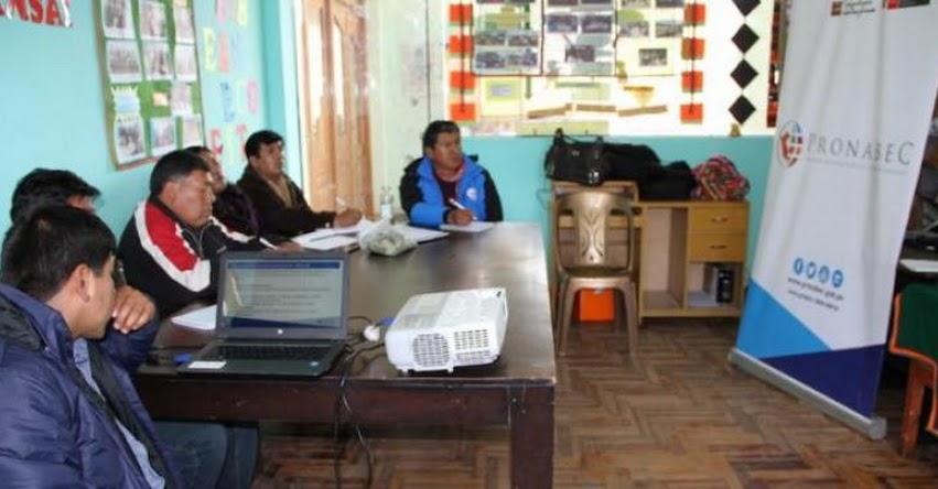 PRONABEC informa en Puno a especialistas regionales de educación - www.pronabec.gob.pe