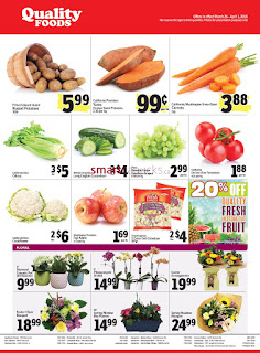 Quality Foods Canada Flyer March 26 - April 1, 2018