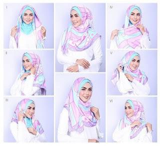 Permalink to Kumpulan Gambar Tutorial Hijab Modern Simple dan Mudah Terbaru 2017