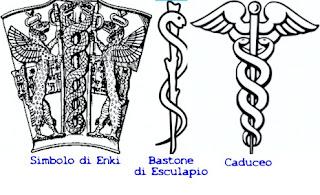 la scintilla divina di enki esculapio caduceo enki La scintilla divina di Enki