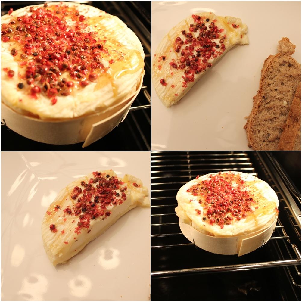 Wolkenfees k chenwerkstatt camembert mit honig und rosa for Koch chakall