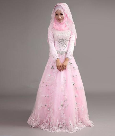 model baju nikah muslim