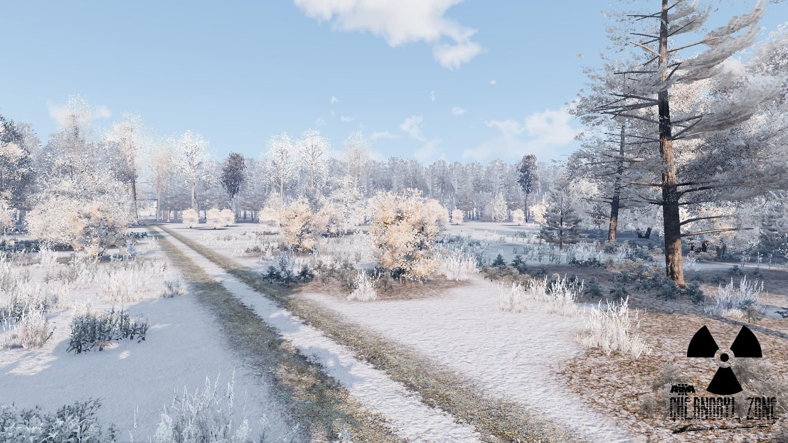 Arma 3 Chernobyl Zone Winter theme for v046