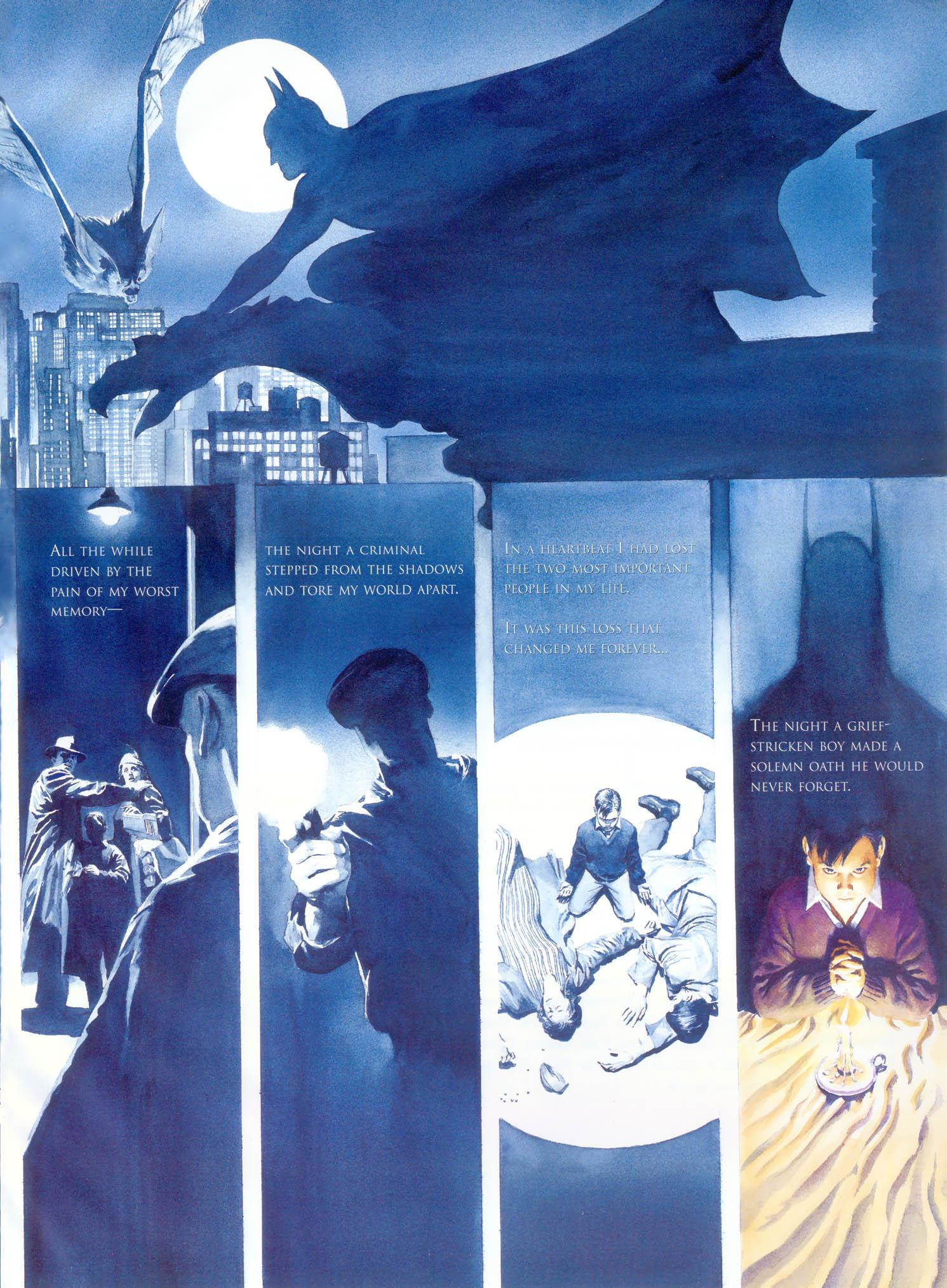 Psychology of Bruce Wayne RCO006