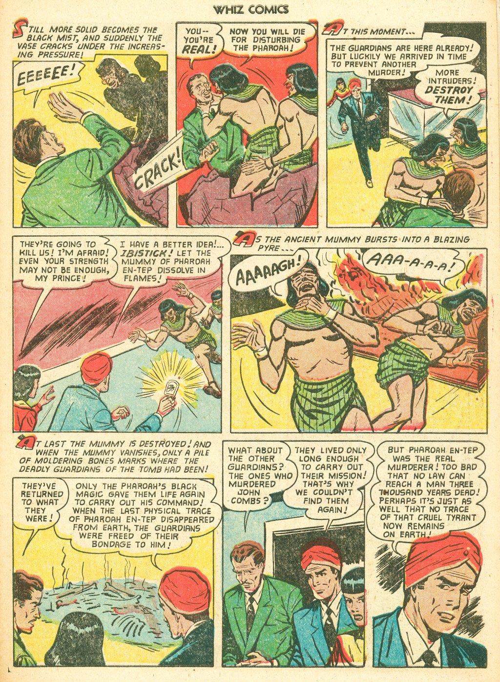 WHIZ Comics #155 #156 - English 27
