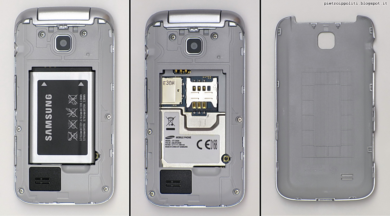 Samsung C3520, interni
