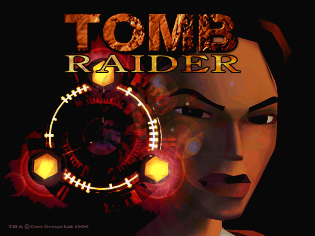 Tomb Raider title screen pc