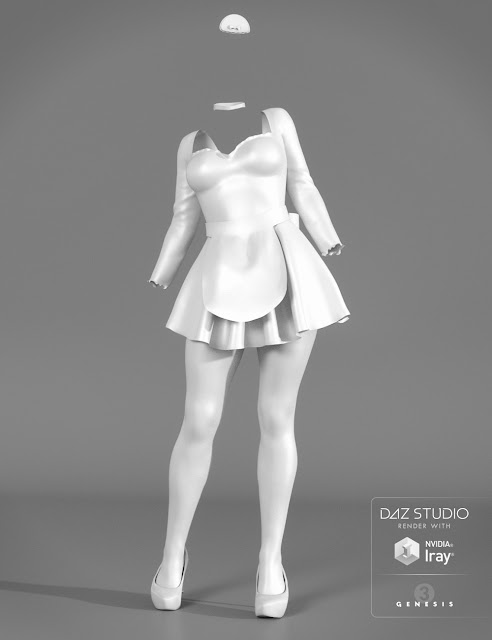 L'aide Outfit for Genesis 3 Female