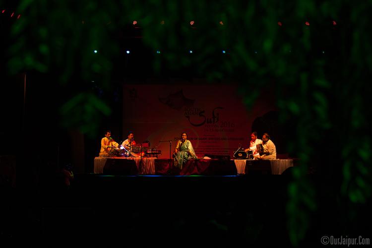 Sufi Artist Vidya Shah SAARC Jaipur Sufi Festival