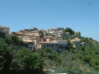 The unspoilt hill town of Arpino