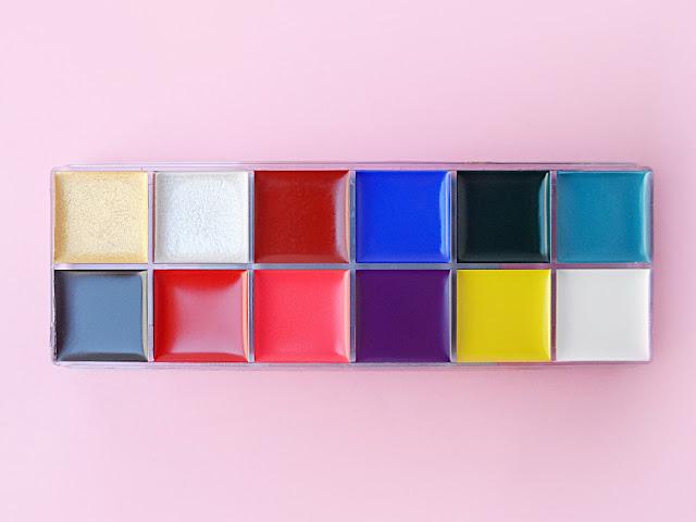 liz breygel born pretty store party makeup beauty palette beauty blogger