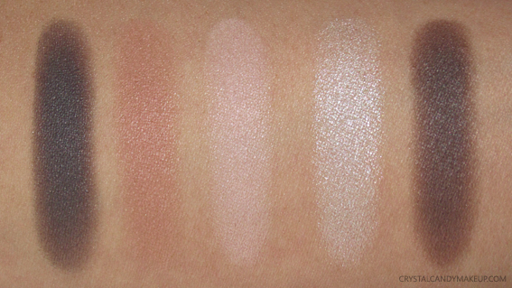 Annabelle Cosmetics Eye Brow Drugstore Palette Swatches