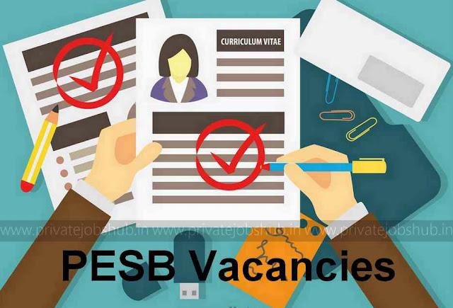 PESB Vacancies