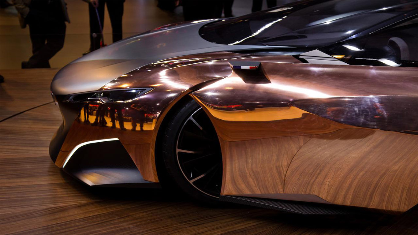 Exceptional Dream Fantasy Cars Peugeot Onyx