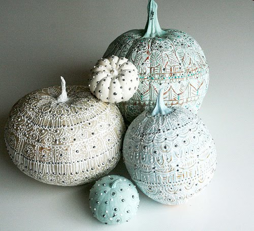 ILoveToCreate Blog: Puffy Paint Pumpkin Painting Ideas