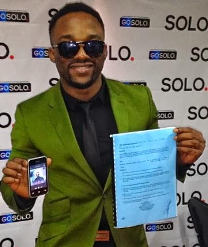 iyanya solo phones nigeria ambassador