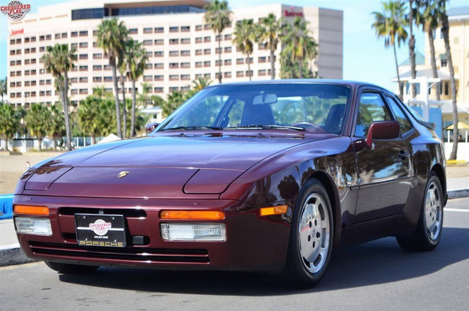 1987 porsche 944 with less than 6k miles is an expensive ride back in time carscoops. Black Bedroom Furniture Sets. Home Design Ideas