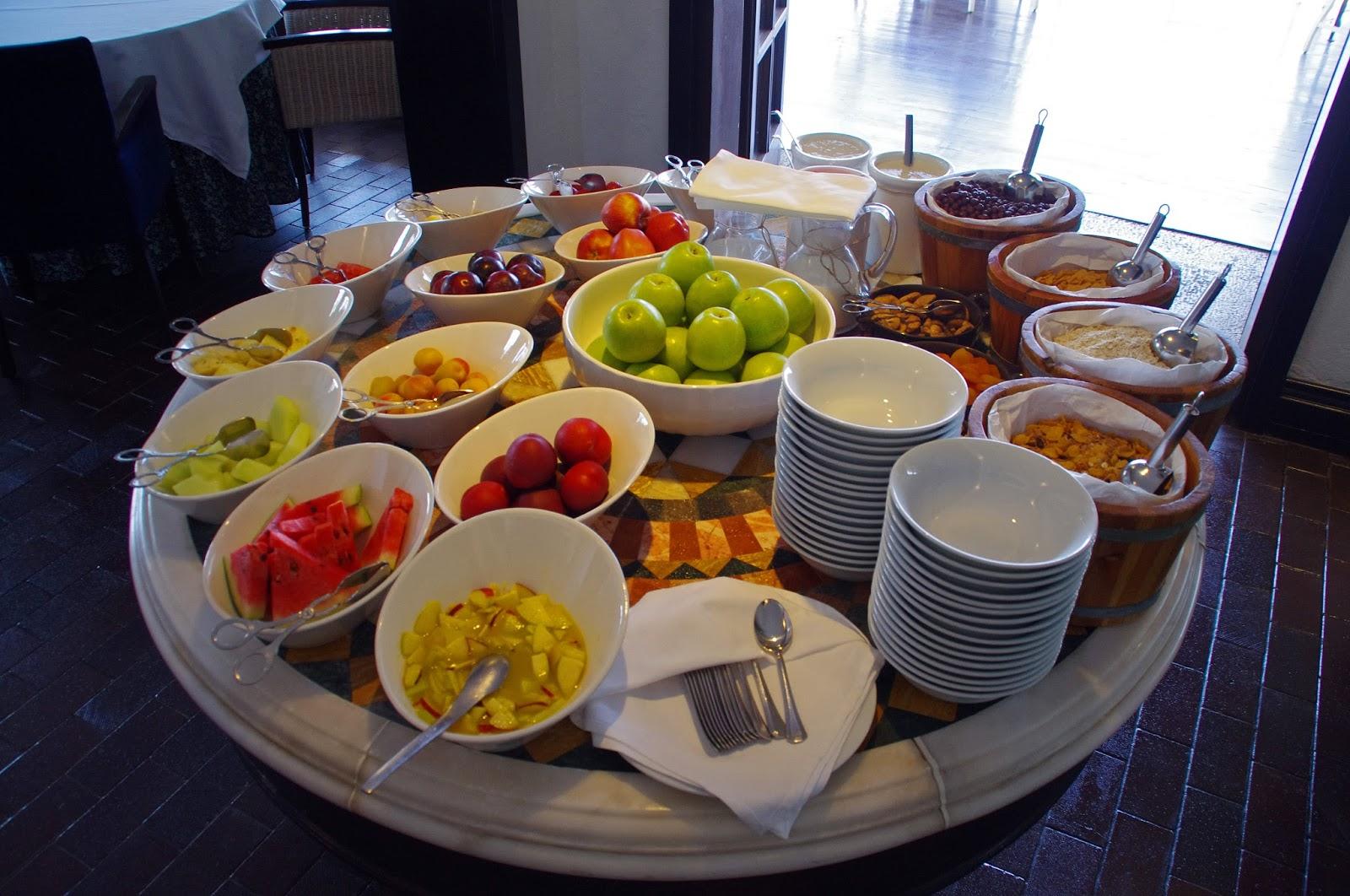 The Marmara Bodrum Breakfast