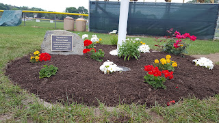 Fletcher Field flag pole honors Harvey Nasuti