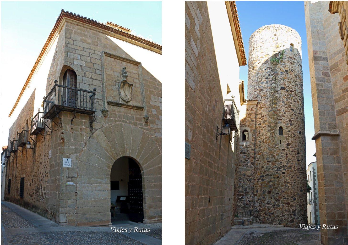 Torre y palacio de Carvajal, Cáceres