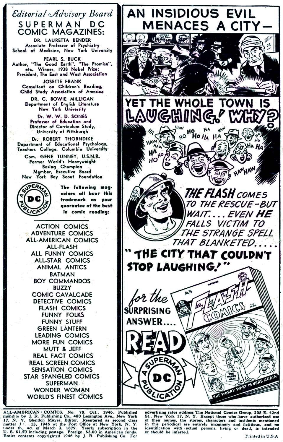 Read online All-American Comics (1939) comic -  Issue #78 - 2
