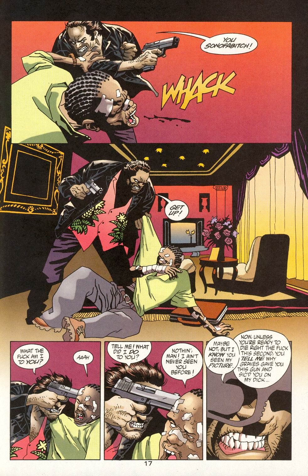 Read online 100 Bullets comic -  Issue #19 - 19