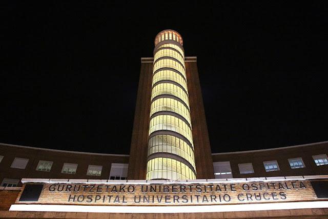 Fachada del hospital de Cruces