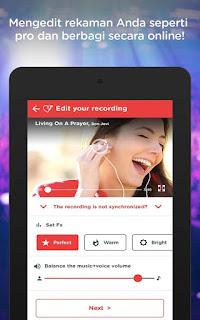 Red Karaoke Nyanyikan & Rekam