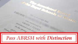 How to get an ABRSM DISTINCTION