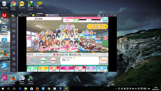 Cara bermain Love Live School Idol Festival di Bluestack
