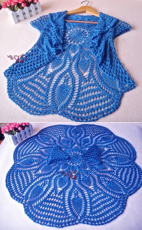 Crochet Sweaters Crochet Circle Sweater Pattern Beautiful