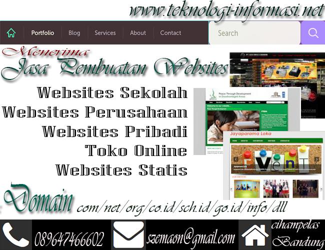 Jasa Pembuatan websites Murah Berkualitas