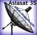 AsiaSat 3S Free Satellite TV Frequencies Update | Klik Dot