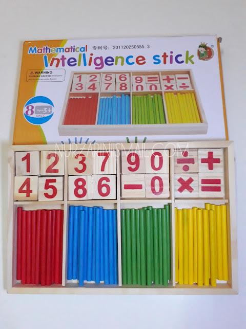 Intelligent Stick Bantu Anak Belajar Mengira