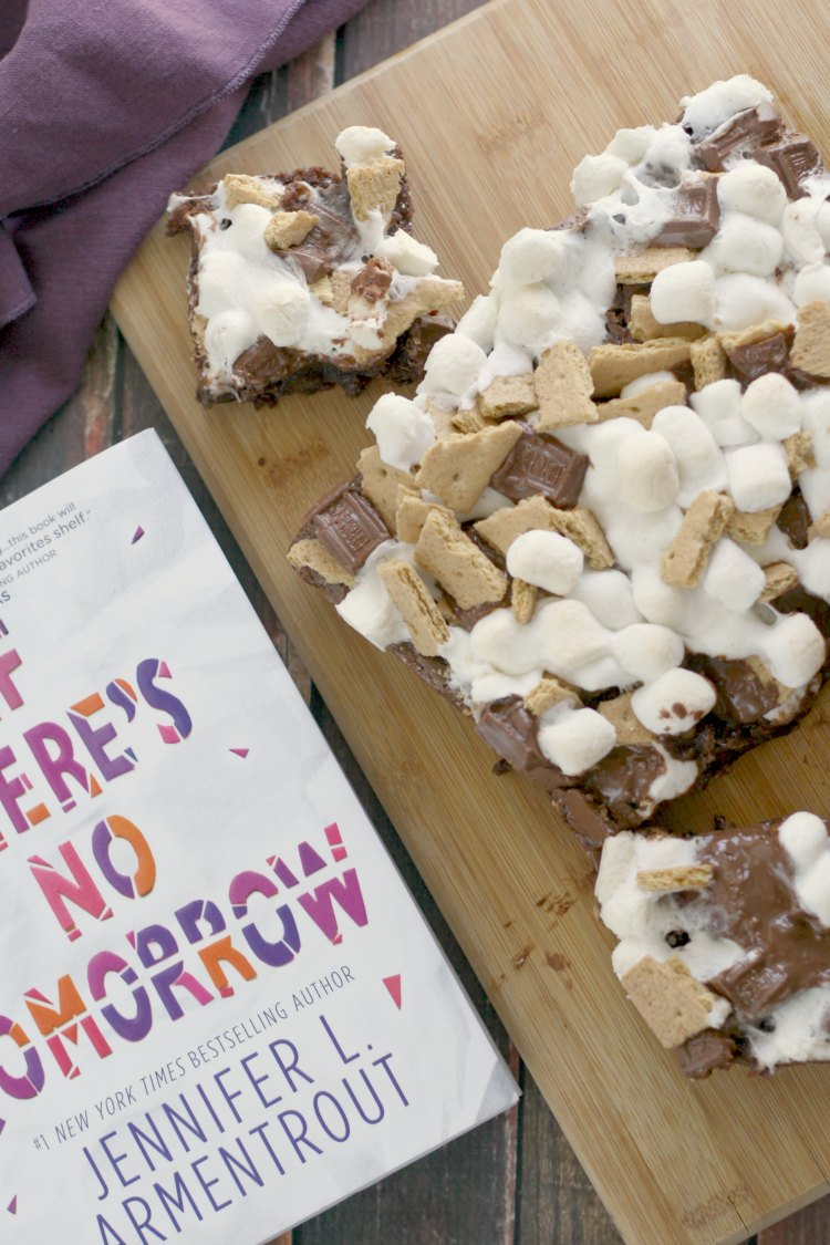 S'mores Brownies | If There's No Tomorrow #TLCBookTours