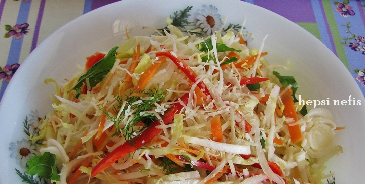 endive salatası