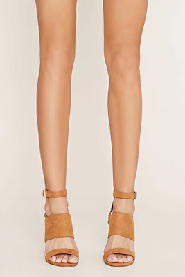 Faux suede wedge sandals, $29.90 from Forever 21
